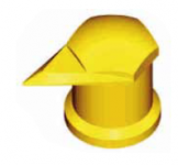 Индикатор колесной гайки с колпачком защищающим от пыли.65914-71